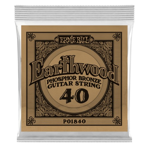 Struna .040 owijana Ernie Ball Earthwood Phosphor Bronze Acoustic