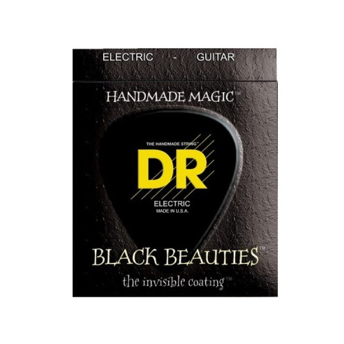 Struny DR Black Beauties Coated