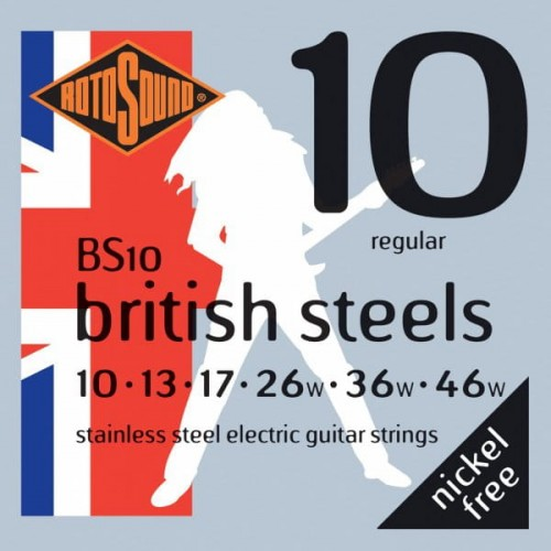 Struny Rotosound British Steels Electric Regular 10-46 (BS10)