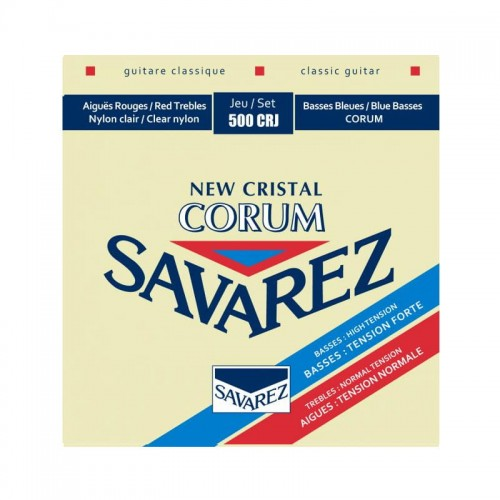 Struny SAVAREZ New Cristal Corum Mixed Tension 500CRJ