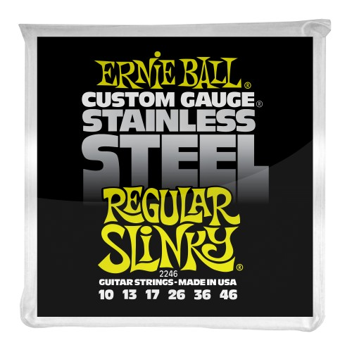 Struny Ernie Ball Regular Slinky Stainless Steel Wound 10-46 (2246)