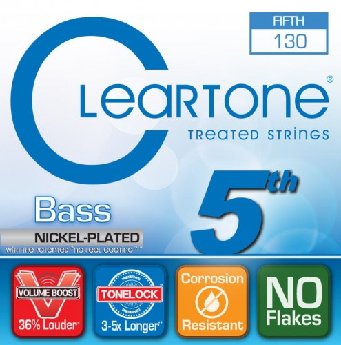 Struny Cleartone Bass Nickel Plated Medium 5-strings 40-130