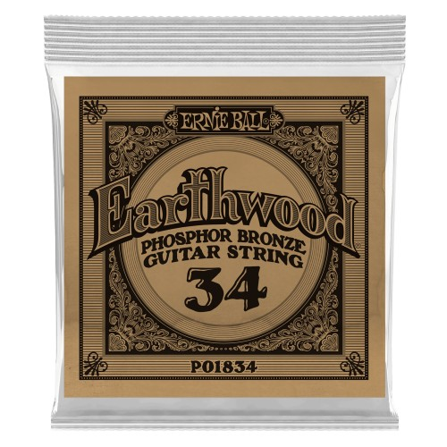 Struna .034 owijana Ernie Ball Earthwood Phosphor Bronze Acoustic