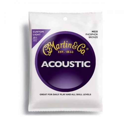 Struny Martin Acoustic M535 Phosphor Bronze Light 11-52