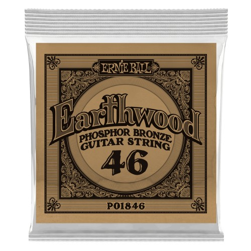 Struna .046 owijana Ernie Ball Earthwood Phosphor Bronze Acoustic