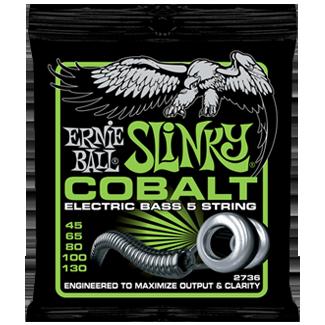 Struny Ernie Ball Cobalt Slinky Bass 5 45-130 (2736)